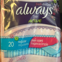 Always Thin Daily Liners Clean Scent uploaded by Gigi C.