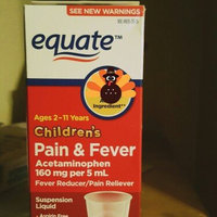 Equate Children's Pain Relief Oral Suspension Liquid Bubble Gum Flavor Fever Reducer/Pain Reliever 4 Oz uploaded by Britknie K.