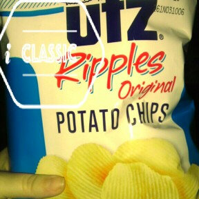 Photo of Utz Ripples Crisp All Natural Ripple Cut Potato Chips uploaded by Courtney F.