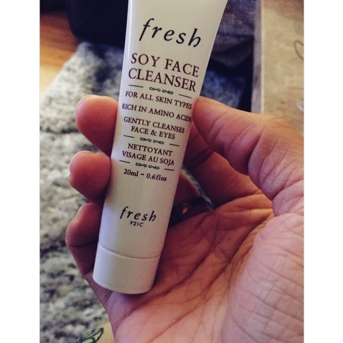 Fresh Soy Face Cleanser uploaded by Sahrish B.