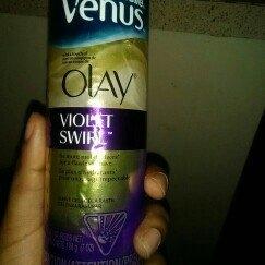Gillette Venus Ultramoisture Violet Swirl Shave Gel with Olay uploaded by christeana u.