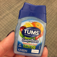 Tums® Smoothies™ Extra Strength 750 Assorted Fruit Antacid Tablets 12 ct Bottle uploaded by Patricia L.