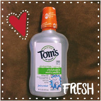Tom's OF MAINE Juicy Mint Children's Anticavity Fluoride Rinse uploaded by Kate F.
