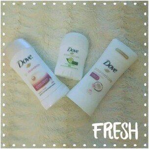 Dove® go fresh Cool Essential Cucumber & Green Tea Scent Anti-Perspirant Deodorant uploaded by Jennifer V.