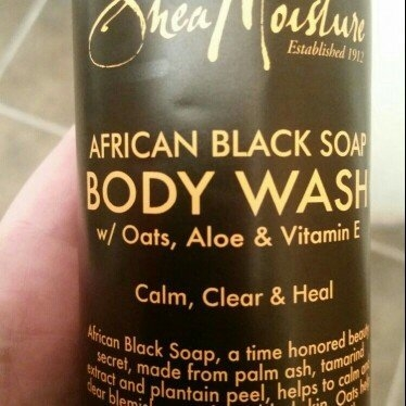 Shea Moisture Organic Argan Oil Raw Shea Body Scrub   uploaded by Jaime T.