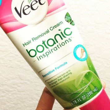 Veet® Botanic Inspirations® In Shower Hair Removal Cream (Sensitive Formula) uploaded by Jhorna C.