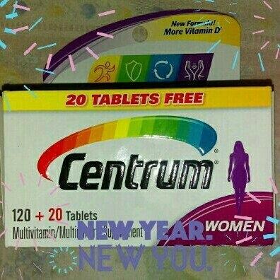 Centrum Women, Multivitamin, Tablets, 120 ea uploaded by Tammy T.