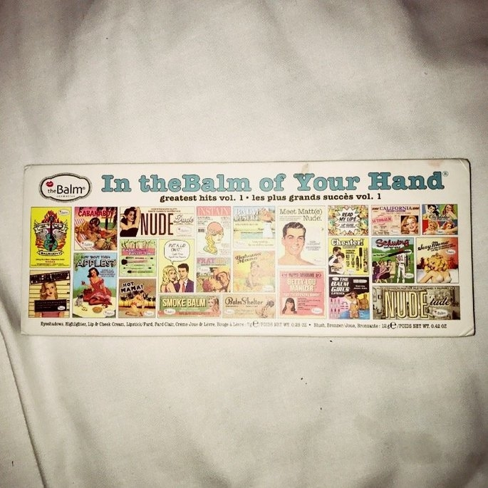 the Balm - In the Balm of Your Hand Greatest Hits Vol 1 Holiday Face Palette uploaded by Daisy H.