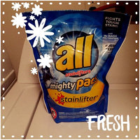 all® OXI mighty pacs® Laundry Detergent 56 Loads 2.96 lb. Tub uploaded by Keyta W.