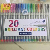 Staedtler Triplus Fineliner Pens, Assorted, Set of 20 uploaded by Alice W.