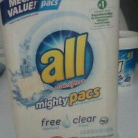 All Free & Clear Super Concentrated Laundry Detergent Pacs 82 ct uploaded by BRENDA B.