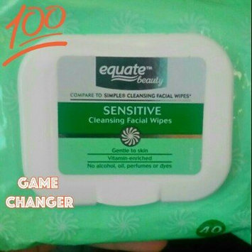 Photo of Equate sensitive skin facial wipes uploaded by Misty C.
