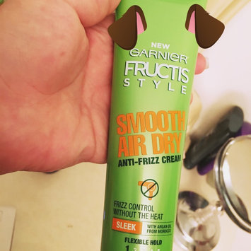 Photo of Garnier Fructis Smooth Air Dry Anti-Frizz Cream uploaded by Shakhzoda O.