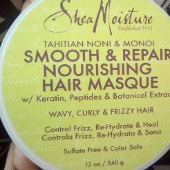 Photo of SheaMoisture Tahitian Noni & Monoi Dead Sea Salt Smooth & Illuminate Hand & Body Scrub uploaded by Karen H.