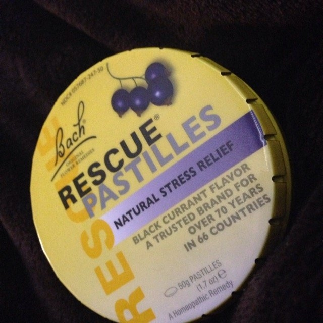 Bach Flower Remedies Rescue Pastilles Black Currant 1.7 oz Case of 12 uploaded by Ambar H.