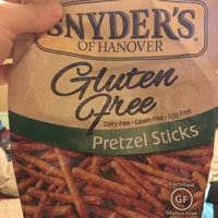 Snyder's of Hanover Pretzel Sticks All Natural Certified Gluten-Free GF uploaded by Jessica M.