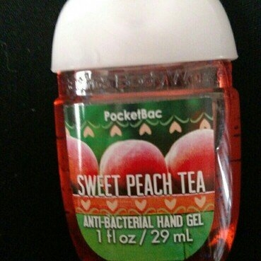 Bath & Body Works PocketBac Hand Sanitizer Gel Sweet Peach Tea uploaded by Hailey M.