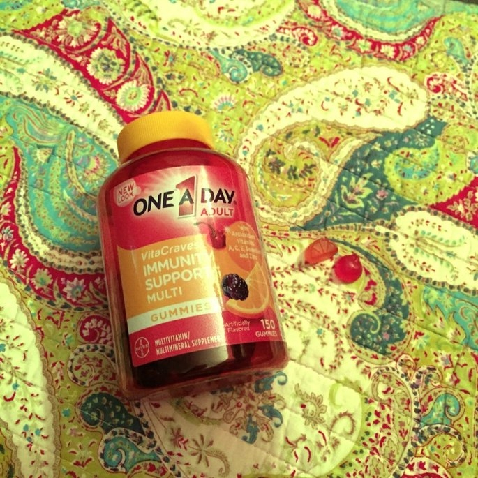 One A Day VitaCraves Gummies Plus Immunity Support, 50 ea uploaded by Hannah H.