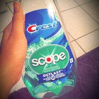 Scope Outlast Mouthwash, Long Lasting Mint, 16.9 fl oz uploaded by Ashley K.