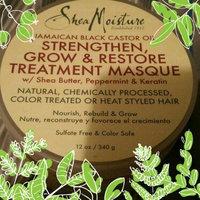 SheaMoisture Strengthen, Grow & Restore Treatment Masque, Jamaican Black Castor Oil, 12 oz uploaded by Alicia L.