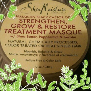 SheaMoisture Jamaican Black Castor Oil Strengthen, Grow & Restore Treatment Masque w/ Shea Butter, Peppermint & Keratin uploaded by Alicia L.