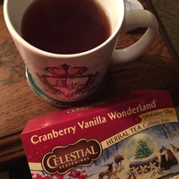 Celestial Seasonings® Cranberry Vanilla Wonderland Herbal Tea Caffeine Free uploaded by Wendy C.