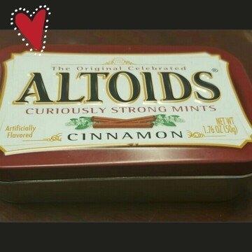 Altoids Cinnamon Mints uploaded by Elizabeth B.