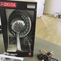 Delta In2ition 6-in Chrome WaterSense Showerhead with Hand Showers 75487 uploaded by Ruth R.