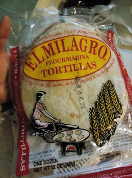 Photo of El Milagro Flour Tortillas - 12 CT uploaded by Lidia Z.
