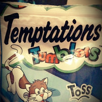 Temptations Tumblers Treats For Cats Savory Salmon & Tuna uploaded by Tricia F.