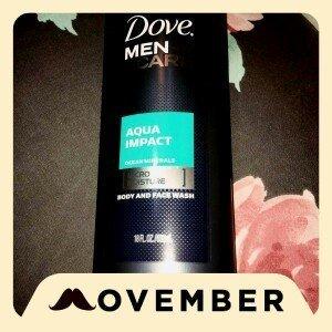Dove Men+Care Body & Face Wash Aqua Impac uploaded by Yanet C.