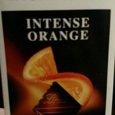 Lindt Excellence Intense Orange Dark Chocolate uploaded by Kali M.