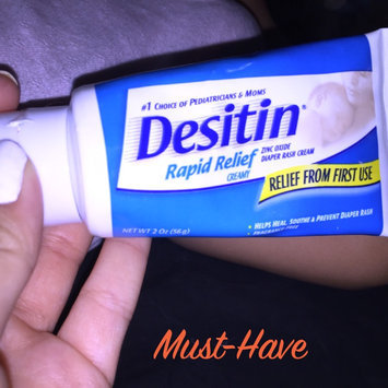 Desitin Rapid Relief Diaper Rash Ointment uploaded by Leslie I.