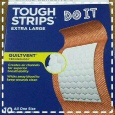 Photo of Band-Aid Adhesive Bandages Sheer Strips Extra Large - 10 CT uploaded by Lizbeth B.