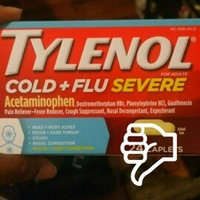 Tylenol® Cold + Flu Severe Caplets uploaded by Myra H.