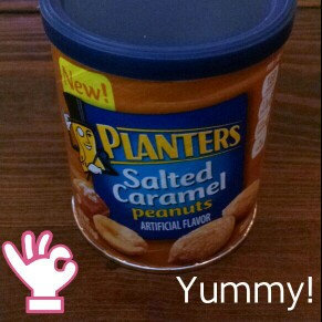 Photo of Planters Salted Caramel Peanuts Can uploaded by Marlena A.