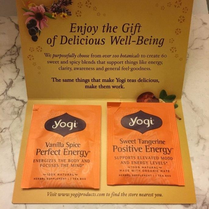 Yogi Tea Vanilla Spice Perfect Energy uploaded by Sophia H.