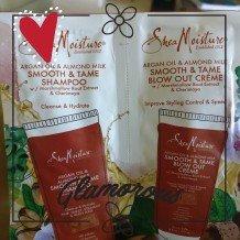 SheaMoisture Argan Oil & Almond Milk Smooth & Tame Shampoo uploaded by Farhiya O.