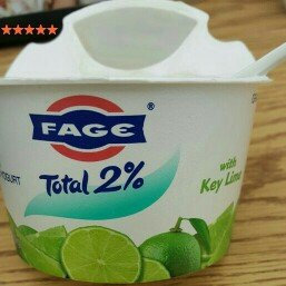 Photo of Fage Total 2% Greek Strained Yogurt with Key Lime uploaded by Jasmine B.