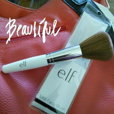 e.l.f. Cosmetics e.l.f. Total Face Brush uploaded by Lacey C.