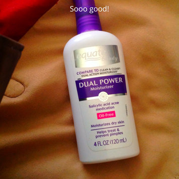 Photo of Equate Beauty Equate Dual Power Moisturizer, 4 fl oz uploaded by Amber A.