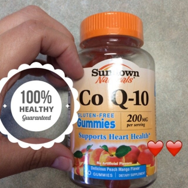 Nature Made CoQ10 Adult Mango Gummies uploaded by Nicole K.