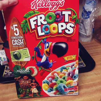 Kellogg's Froot Loops Cereal uploaded by Teran F.
