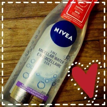 Nivea 3-in-1 Micellar Cleansing Water, Sensitive Skin, 200 mL uploaded by Amanda A.