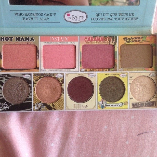 the Balm - In the Balm of Your Hand Greatest Hits Vol 1 Holiday Face Palette uploaded by Stephanie R.
