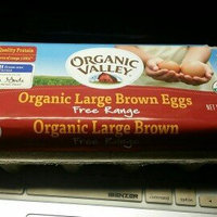 Organic Valley Organic Large Brown Eggs Free Range Grade uploaded by Jock G.