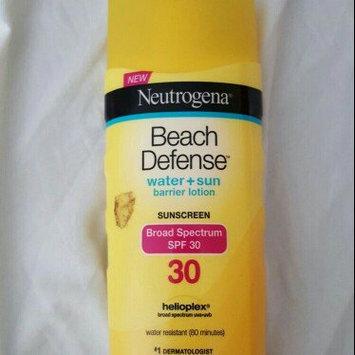 Photo of Neutrogena Beach Defense Broad Spectrum Sunscreen Lotion uploaded by Antoinette C.