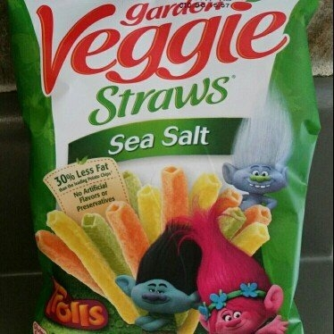 Hain Celestial Sensible Portion Lightly Salted Veggie Straws - 1oz uploaded by Shena H.