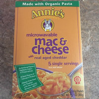 Annie's Homegrown Real Aged Cheddar Microwavable Mac & Cheese uploaded by Molly G.