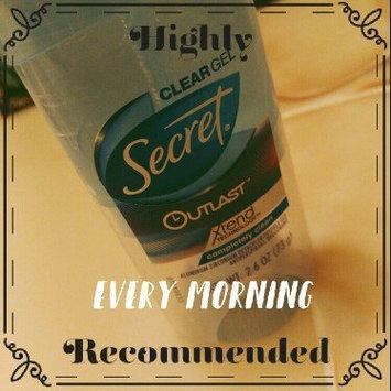 Secret® Outlast Clear Gel Completely Clean uploaded by Trina J.